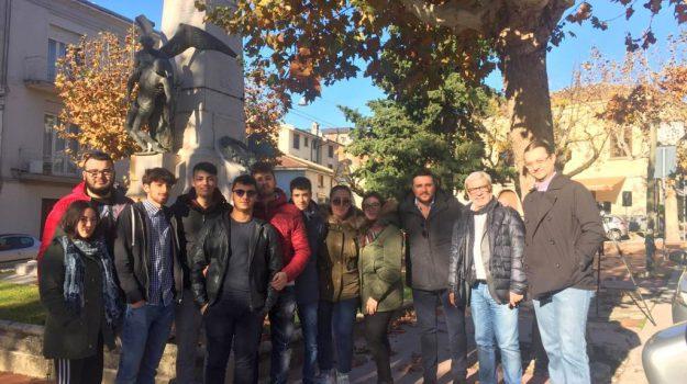 Geometra fedele calvosa, riqualificazione urbana castrovillari, studenti al lavoro a castrovillari, Dario D'Atri, Cosenza, Calabria, Cronaca