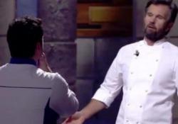 L'episodio durante una puntata di Hell's Kitchen