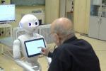 Il robot per assistere gli anziani con l'Alzheimer