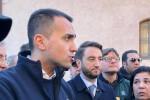 Di Maio sui luoghi del terremoto di Catania: sarà dichiarato lo stato di emergenza