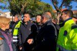La visita di Di Maio nei luoghi del terremoto dell'Etna - Video