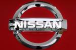 The logo of Nissan Motor
