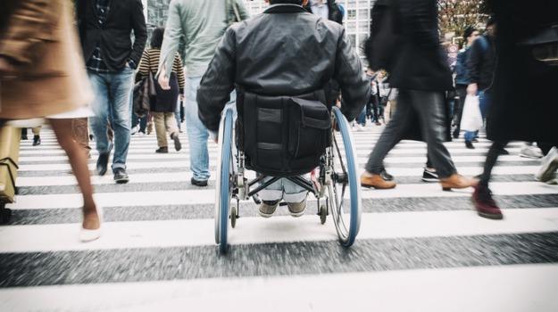 disabile Corigliano, strada dissestata Corigliano, Cosenza, Calabria, Cronaca