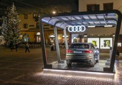 Al Fashion Weekend 2018 nuova Audi Q3 'regina' di Cortina