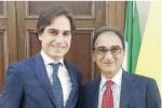 I sindaci Giuseppe Falcomatà e Sergio Abramo