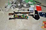 Marijuana, armi e munizioni in un garage: due arresti ad Adrano, uno è minorenne