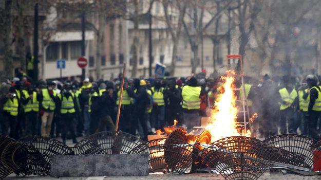 francia, gilet gialli, protesta, Emmanuel Macron, Sicilia, Mondo
