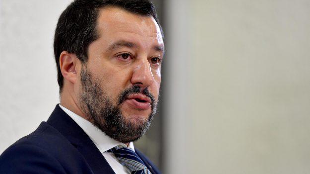 salvini a catania, terremoto etna, Matteo Salvini, Sicilia, Cronaca