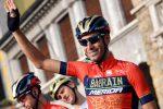 Allenamenti ad Alì Terme per Vincenzo Nibali