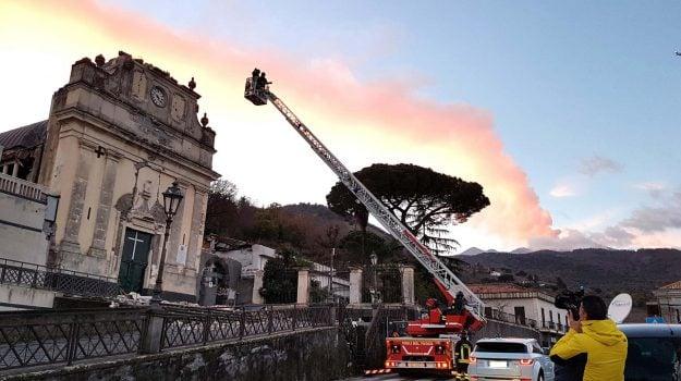 cronistoria eventi etna, eruzione etna, terremoto etna, Sicilia, Cronaca