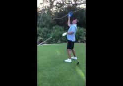 Da ex quarterback Dan Marino ha sempre allenato la sua precisione e questa qualità l'ha trasferita nel golf