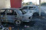Badolato, nella notte a fuoco quattro auto