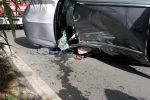 L'incidente a Badolato, le immagini dalla Statale 106
