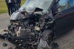 Incidente sulla Provinciale 89 vicino Maida, nello scontro ferite tre persone - Foto