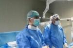 Da sinistra i dott. Luca Ottaviano e Giuseppe Calvagna
