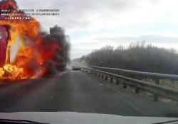 Russia, drammatiche immagini dello scontro
