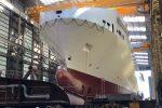 """""""Alf Pollak"""", slitta il debutto della nave più grande del Mediterraneo"""