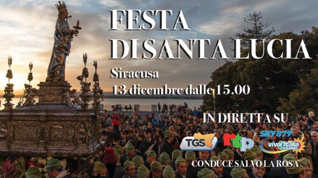 patrona siracusa, processione santa lucia diretta, santa lucia siracusa, Salvo La Rosa, Sicilia, Cultura
