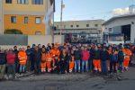 Netturbini senza stipendio e in sciopero a Reggio, raccolta rifiuti bloccata
