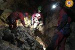 Speleologo ferito nell'Abisso del Vento a Isnello, soccorso alpino in azione