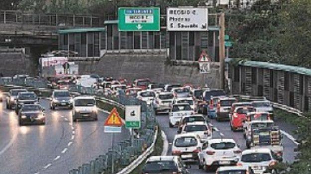 tangenziale reggio calabria, traffico, Reggio, Calabria, Cronaca