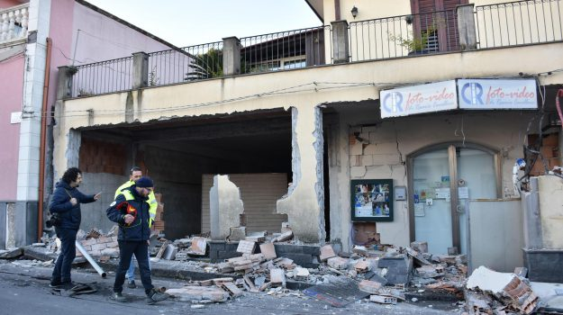 sisma catanese, terremoto catania, terremoto etna, Sicilia, Cronaca