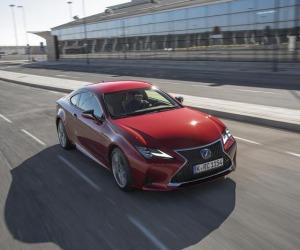 Alla guida di Lexus RC, sport coupé comoda come una berlina