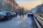 Maxitamponamento tra 50 veicoli per ghiaccio su Valsugana