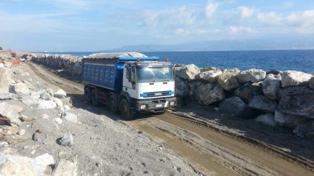erosione costa, messina, muro a galati, Messina, Sicilia, Politica