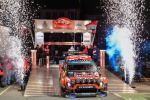 WRC, Citroen parte bene nelle prove notturne. Ogier secondo