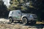 Land Rover svela la forma definitiva del suv Defender 2020