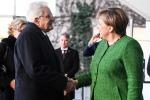 Merkel lauds Italy Libya line