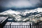 Neve in Sicilia e Calabria, imbiancate le colline intorno a Palermo