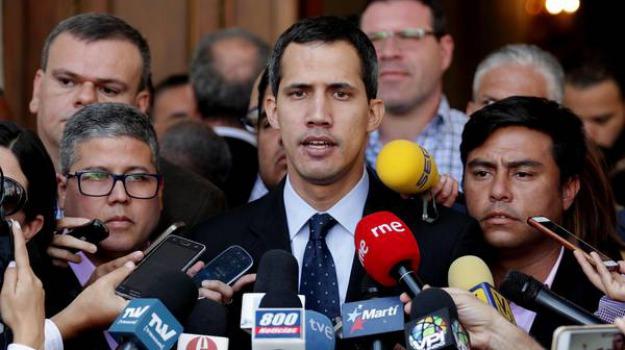 presidente venezuela, rivoluzione democratica venezuela guaidò, veneziela, Guaidò, Matteo Salvini, Sicilia, Mondo