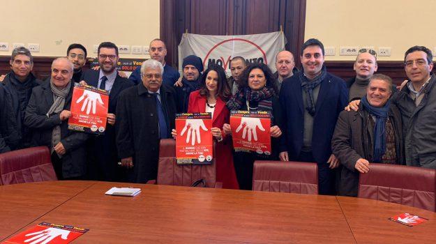Andrea Argento, Antonio De Luca, Cristina Cannistrà, grazia d'angelo, Messina, Sicilia, Politica
