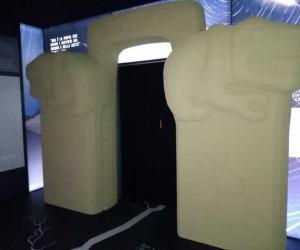 Un'immagine della mostra Ars Excavandi a Matera
