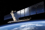 Rappresentazione artistica di una satellite della costellazione europea Copernicus per l'osservazione della Terra (fonte: ESA/ATG medialab)