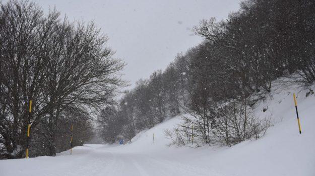 impianti bloccati vento, impianti sci lorica, sciare a lorica, Rossana Granato, Cosenza, Calabria, Cronaca