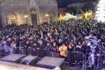 Messina, le note del concerto di Capodanno rinviato per maltempo: le immagini