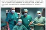 Medico di Pisa, stanco di politici incompetenti (fonte: Facebook)