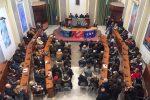 Assemblea dipendenti della provincia dopo il provvedimento di De Luca