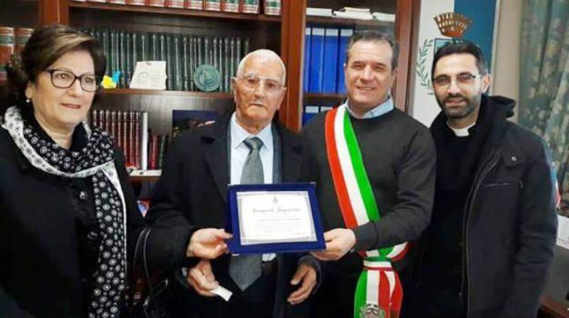 centenario crosia, cento anni, nonno centenario, Pasquale Papparella, Cosenza, Calabria, Società