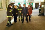 La visita del sottosegretario Candiani ai vigili del fuoco di Messina e Milazzo - Foto