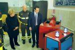 """Visita del sottosegretario Candiani ai vigili del fuoco a Messina e Milazzo: """"Investimenti per la manutenzione delle caserme"""""""