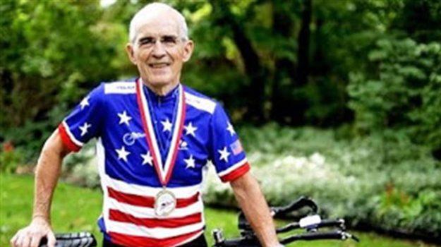 ciclista 90enne, doping, Carl Grove, Sicilia, Sport