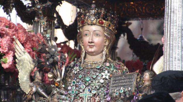reliquia sant'agata, sant'agata catania, terremoto etna, Sicilia, Società