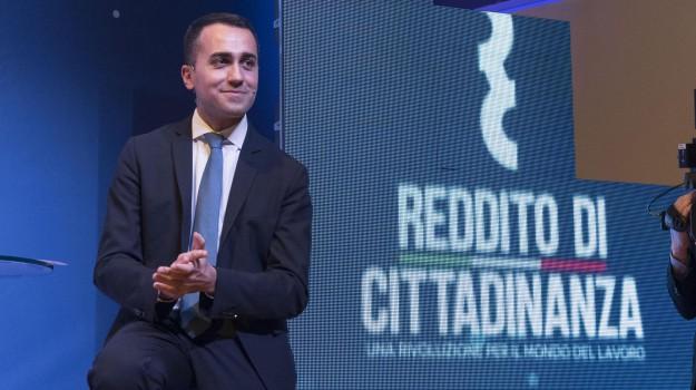 manovra, reddito di cittadinanza, Luigi Di Maio, Sicilia, Economia