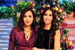 Gaffe su Frizzi, Caterina Balivo augura buon anno al collega scomparso: il web non perdona