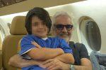 """Flavio Briatore parla del futuro del figlio: """"Non serve che vada all'università, sarò io a formarlo"""""""