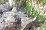 Frana a Castelmola, tragedia sfiorata e sp 10 a rischio chiusura